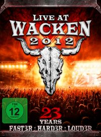 V.A. - Live at Wacken 2012 – 23 years faster harder louder